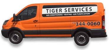 Tiger Services Van