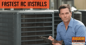We Do the Fastest AC Installation in the San Antonio area.