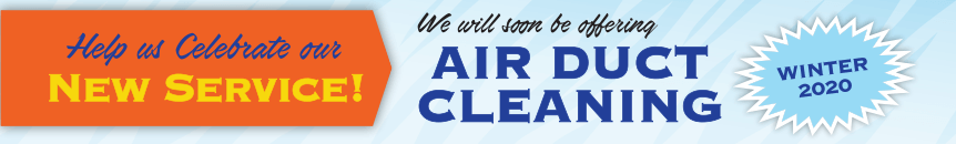 Enter for a chance to win one of two, $450 Duct Cleaning gift cerficicates from Tiger Services Air Conditioning and Heating.